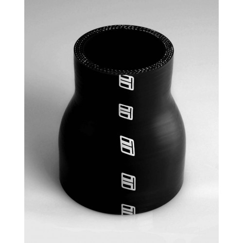 Silicone 63-50mm Straight Reducer - Black